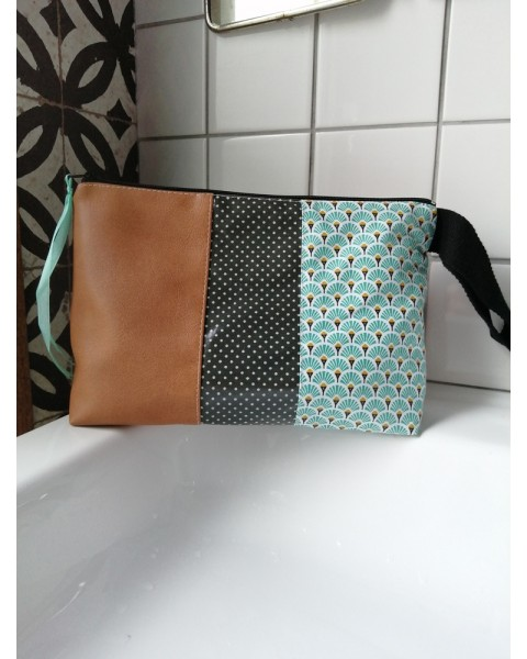Trousse de toilette Marron,...