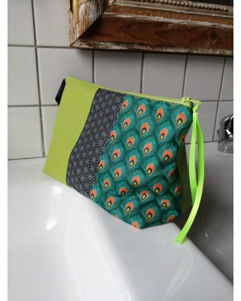Trousse de toilette Verte...