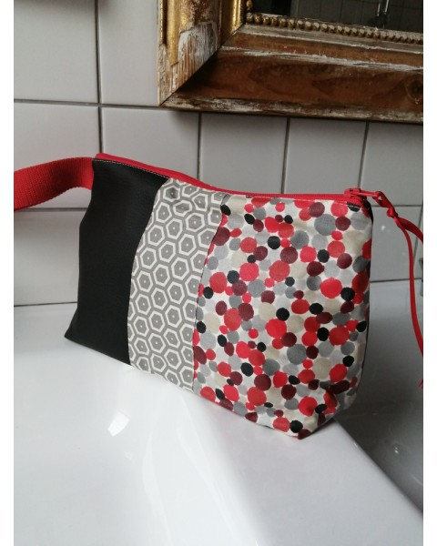 Trousse de toilette Rouge,...